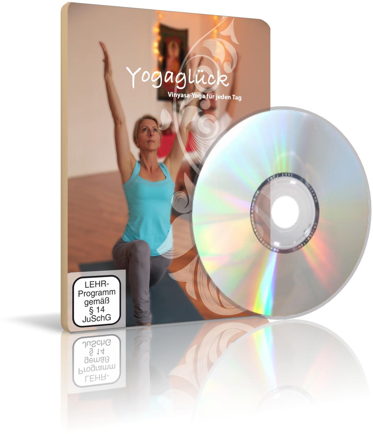 DVD Yogaglück Vol.1, Vinyasa-Yoga für jeden Tag